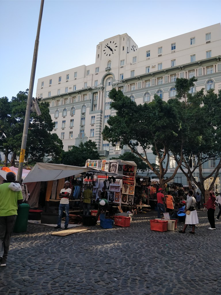 Cape Town South Africa Travel Blog Greenmarket Square