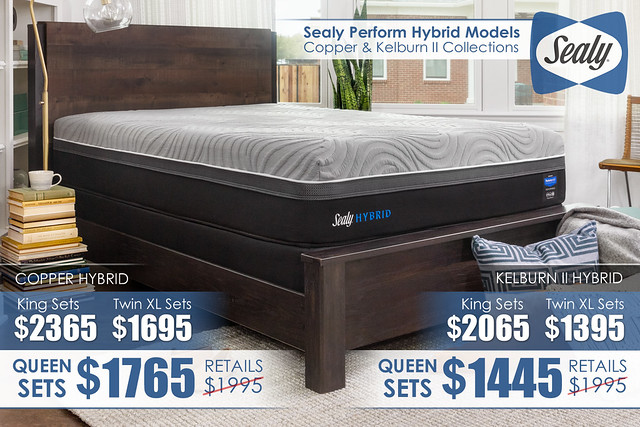 Sealy-Hybrid_Copper and Kelburn II Mattresses_NEW