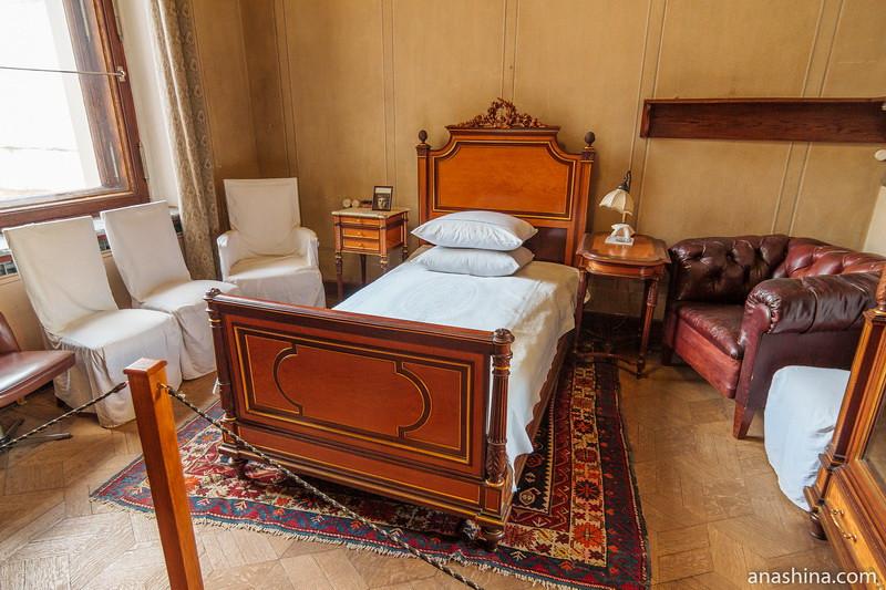 Спальня, особняк Рябушинского, Москва