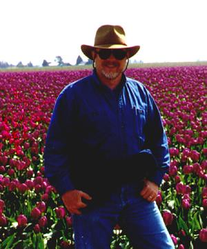 Tom in Tulips