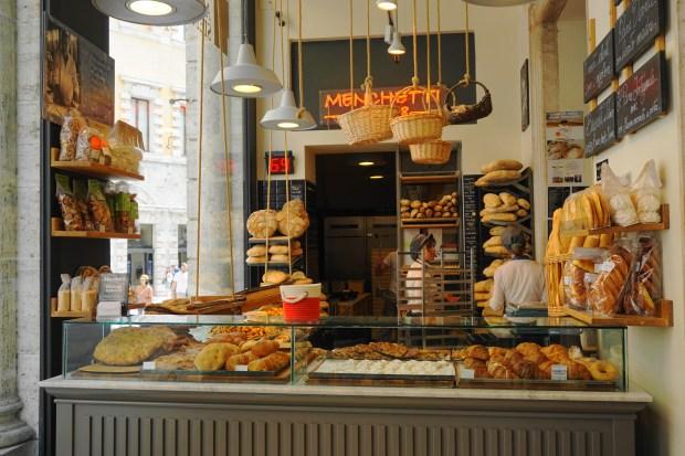 Italian sweets at Consorzio Agrario di Siena