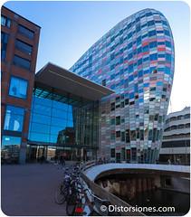 Catharijnesingel, el hotel nuevo y el centro comercial
