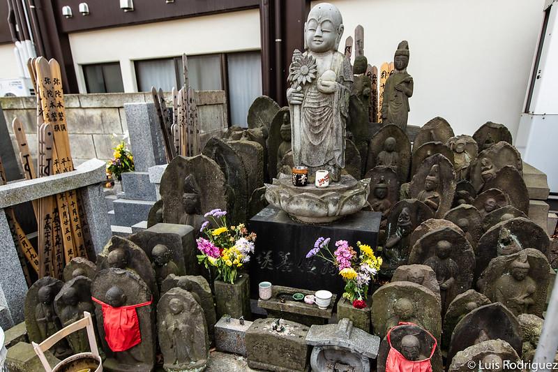 Himawari Jizo, protector de los trabajadores de Sanya