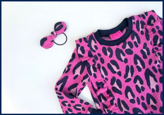 pink leopard Millie sweater