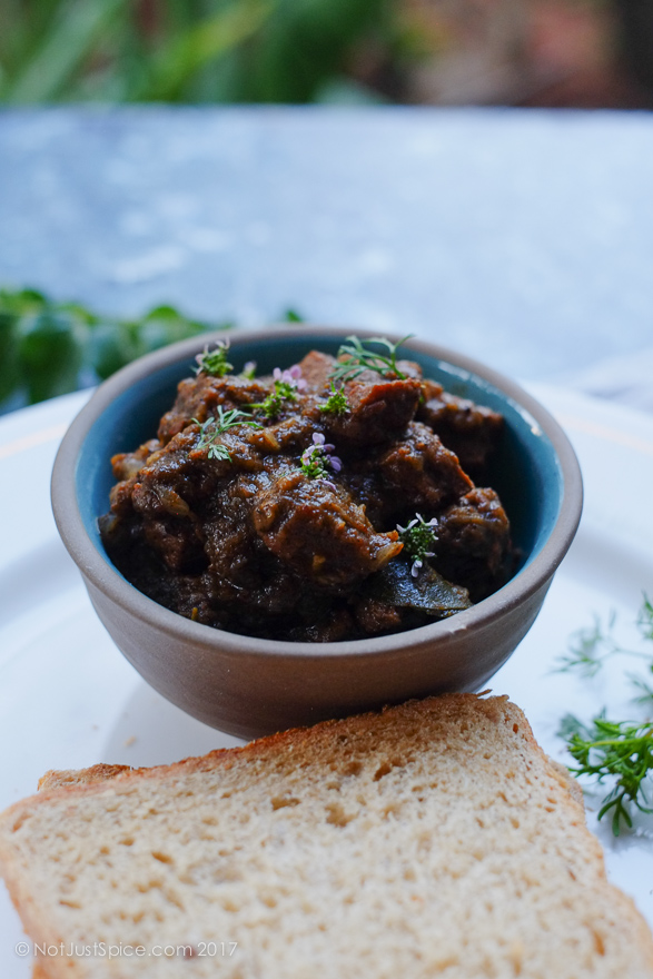Black Pepper Beef Gravy South Indian Style | Beef Pepper Curry | Mutton Pepper Curry on notjustspice.com