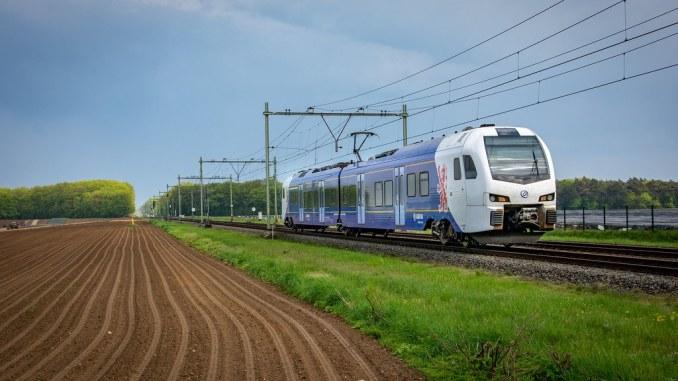 Sint Joost Arriva trein