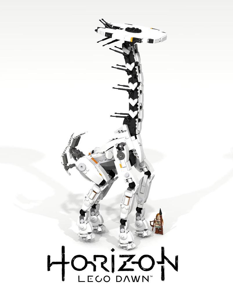 Horizon Zero Dawn Tallneck (LDD Building Instructions) by