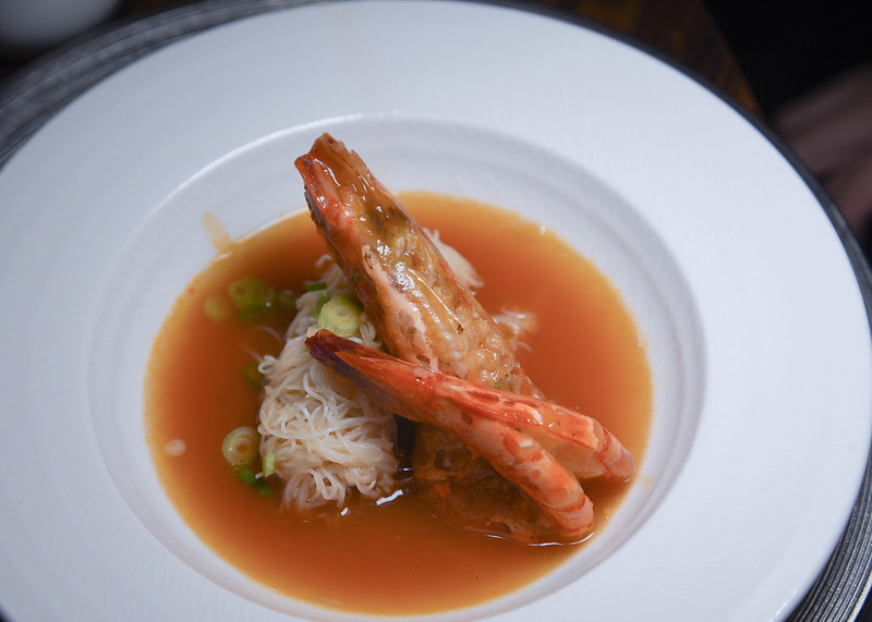 tiger prawn vermicelli man fu yuan