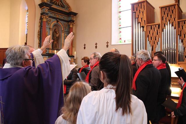 Inauguration de l'orgue de Friedolsheim