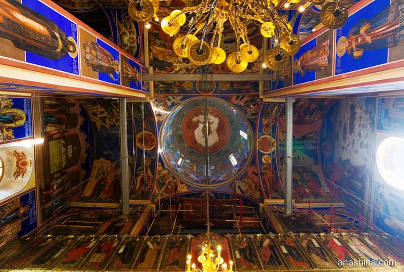 Роспись собора Рождества Богородицы в Суздале