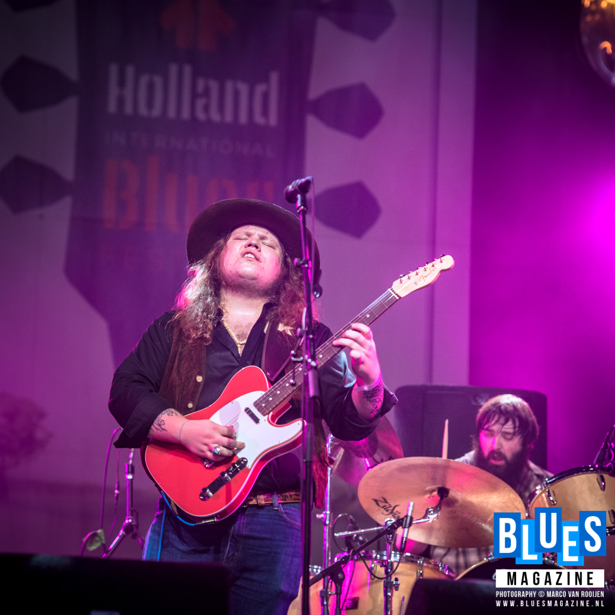The Marcus King Band @ Holland International Blues Festival 2018 Grolloo