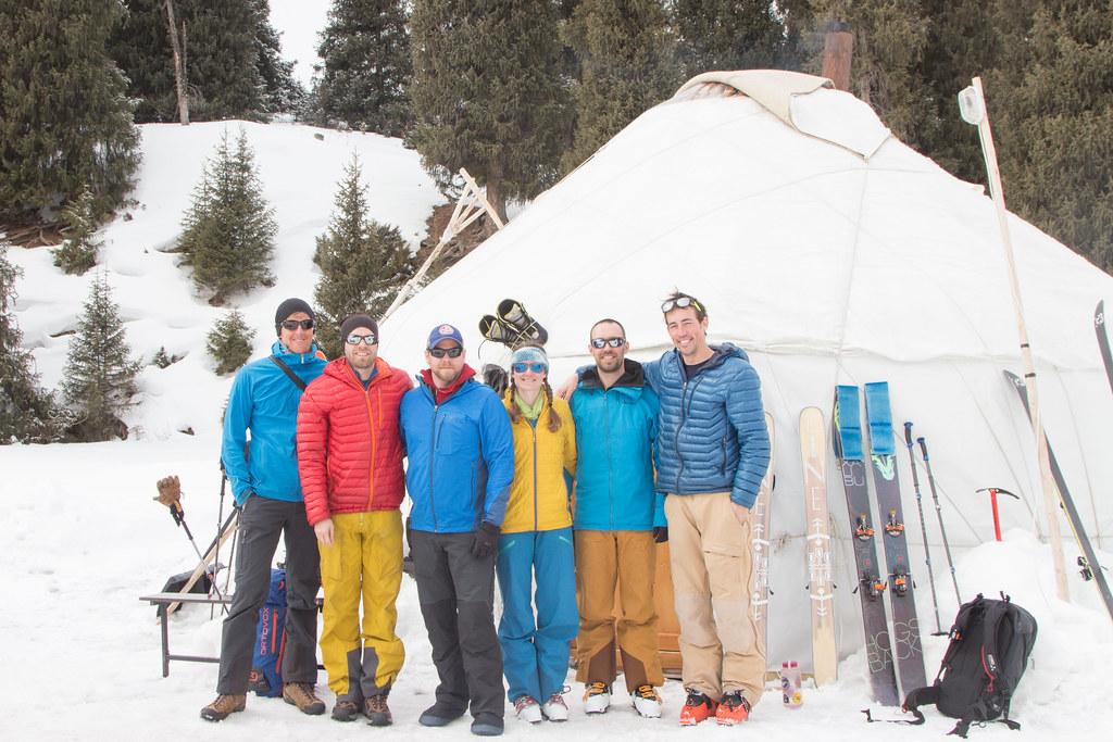 Ak-Suu ski crew