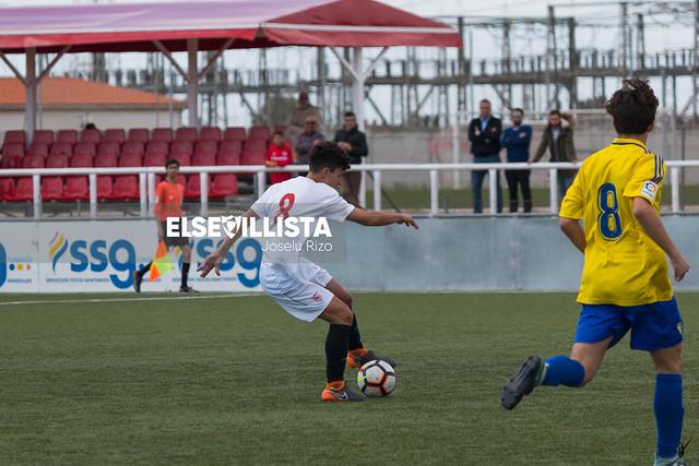 Sevilla FC - Balón de Cádiz CF (División de Honor Cadete)