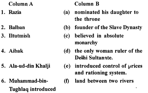 ICSE Solutions for Class 7 History and Civics - The Delhi Sultanate- HIS-09