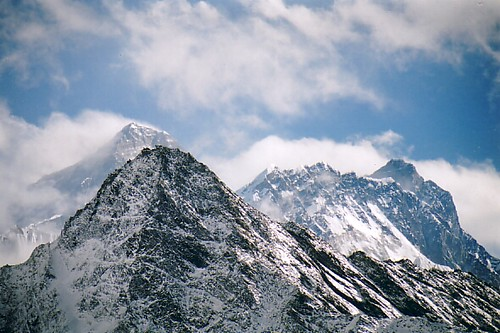 Mt Everest from Gokyo Ri