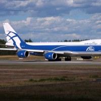 AirBirdgeCargo VQ-BLR, OSL ENGM Gardermoen