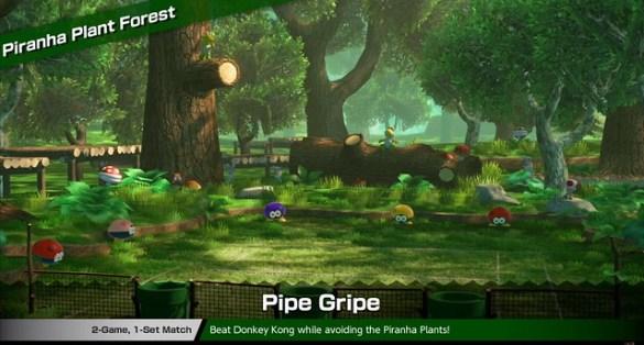 Mario Tennis Aces - Piranha Plant Forest
