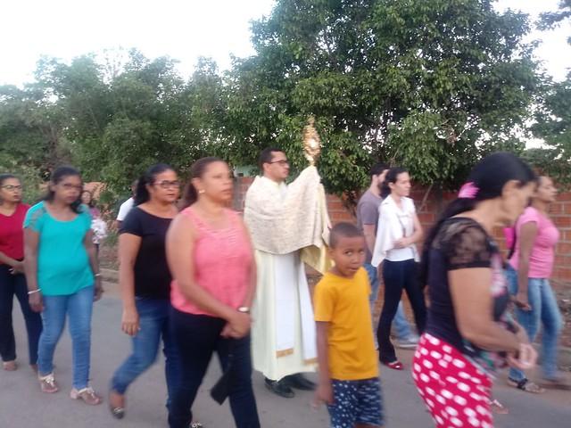 Solenidade de Corpus Christi 2018 Riacho da Cruz