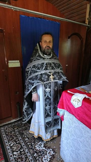 2018 05 26 Parish Rector, Liturgy, Church of the Kazan icon of the Mother of God, Kyiv