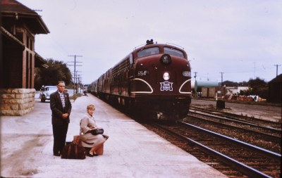 Rock Island E-8 at Owatonna Min 1964