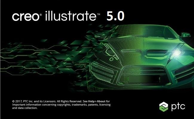 PTC Creo Illustrate 5.0 x86 x64 full license