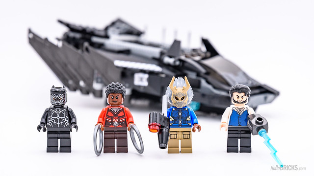 REVIEW LEGO Marvel 76100 Black Panther Royal Talon Fighter Attack