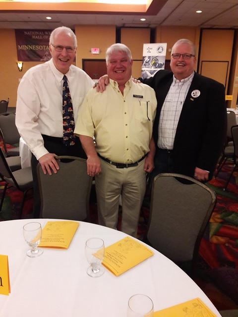 Scot Davis, Benjamin, and Larry Hovden.