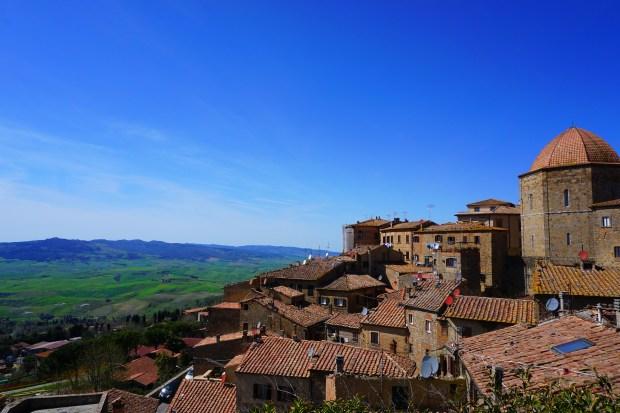 Volterra historic town