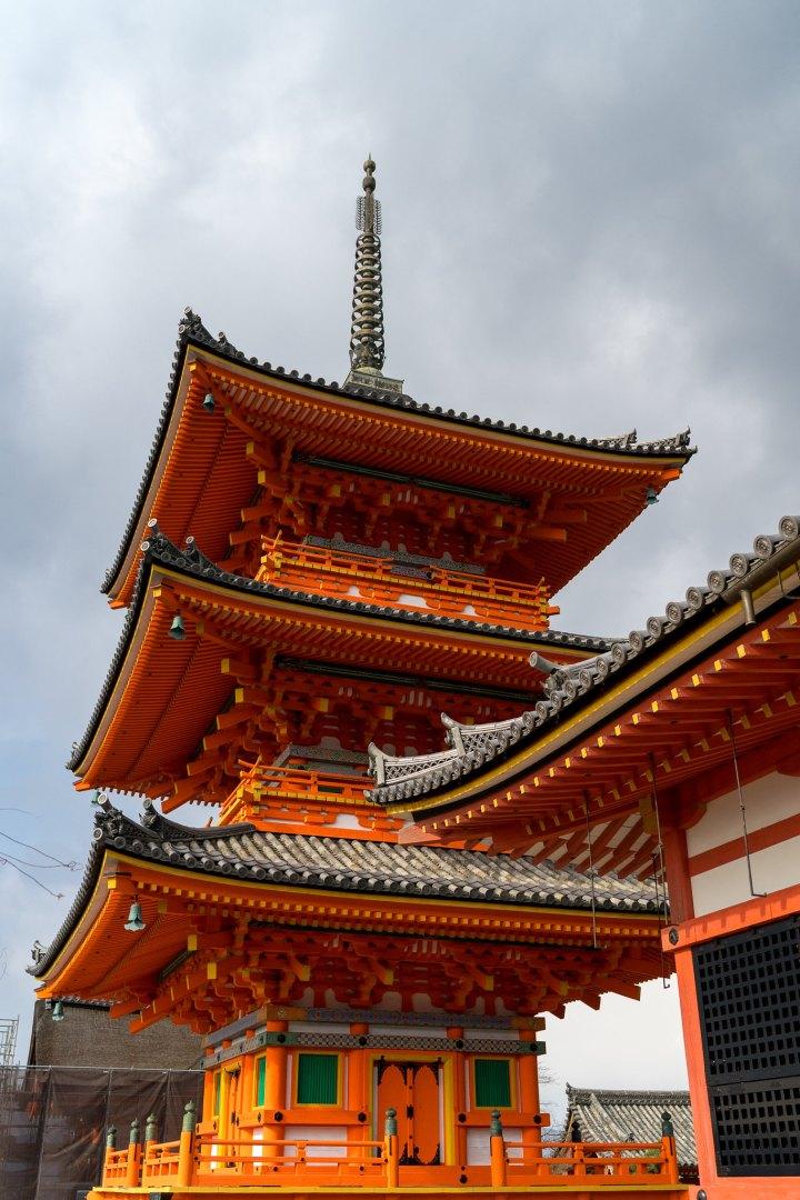 Pagoda at Kiyomizu-dera