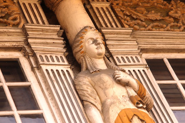 Caryatid Detail of Dr. Jose Bautista House