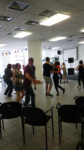 Dance workshop at the Polyglot Gathering
