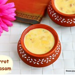 Carrot payasam with jaggery