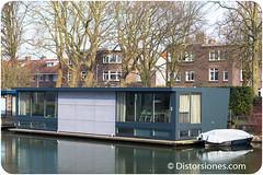 Otra casa flotante en Utrecht