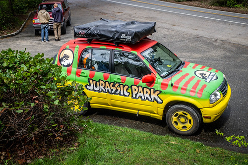 Jurassic Park Vehicle-001