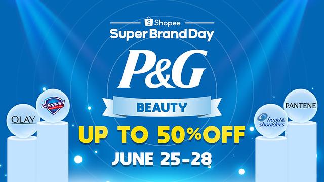 P&G Shopee Brand Day Sale Image