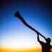 Troy Didgeridoo Silhouette