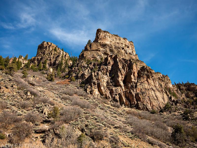 Glenwood Canyon Above