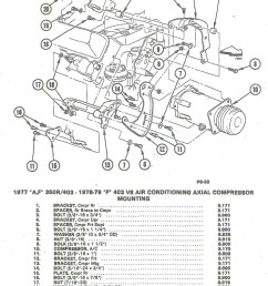 installing a c compressor brackets to olds 350 403 [ 820 x 1024 Pixel ]