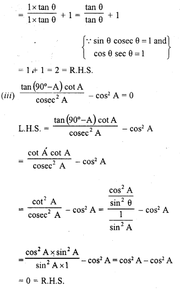 RD Sharma Maths Class 10 Solutions Pdf Free Download Chapter 5 Trigonometric Ratios