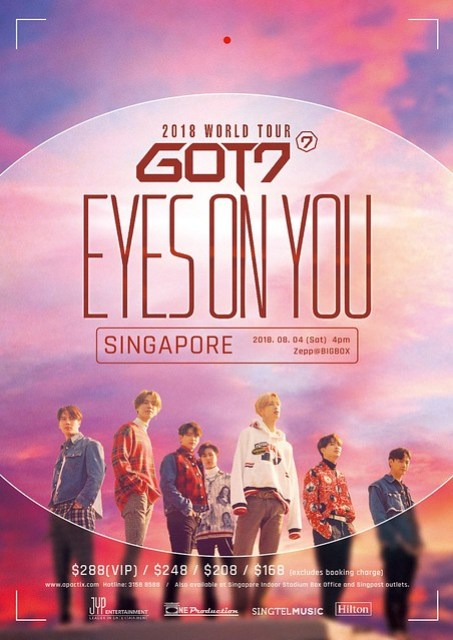 GOT7 'EYES ON YOU' WORLD TOUR IN SINGAPORE