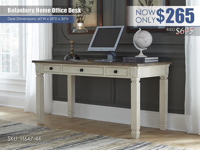 Bolanburg Office Desk_H647-44