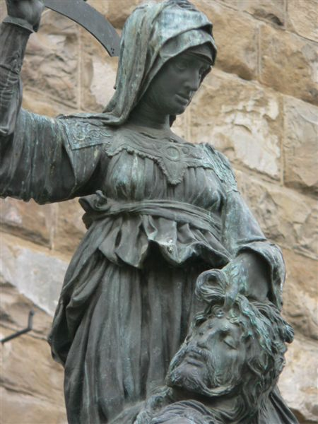 Judith and Holofernes by Donatello