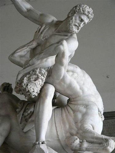Hercules Battling The Centaur Nessus By Giovanni Bologna 1599 Flickr Photo Sharing