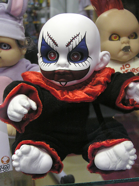 Evil Clown Baby Flickr Photo Sharing!