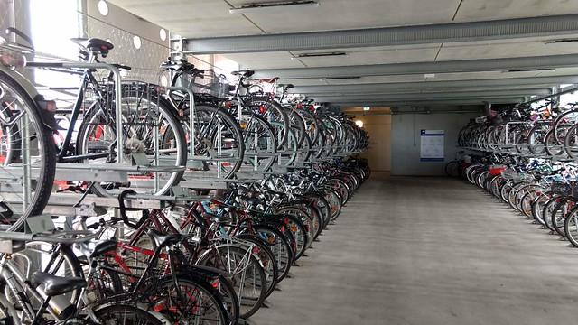 Fahrrad-Parkhaus Bernau