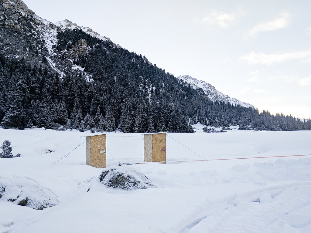 Ak-Suu outhouses