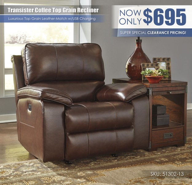 Transister Recliner_51302-13_Clearance