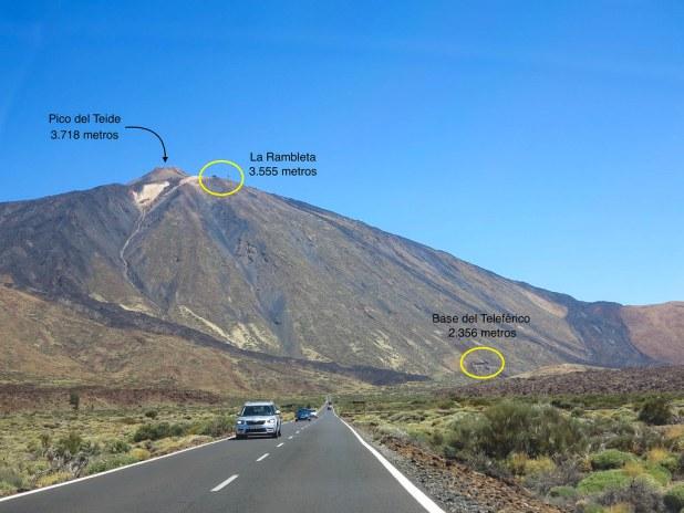 Vista al Teide