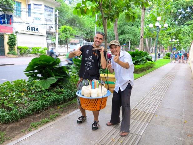 Vendedor en Saigón