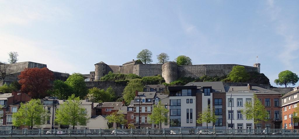 Ciudadela rio Mosa o Meuse Namur Belgica 01